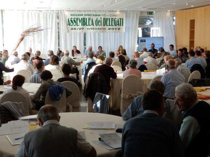 Assemblea dei delegati di Cuneo - la Giovane Montagna in cammino