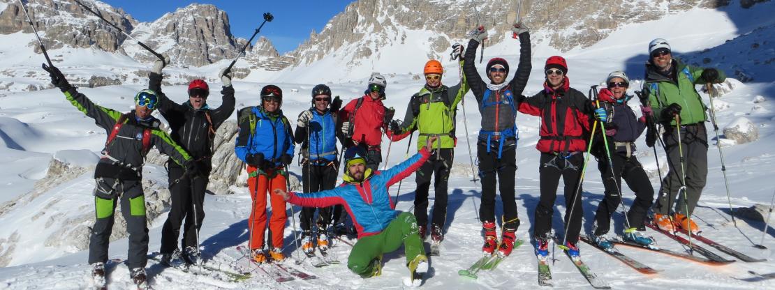 Aggiornamento avanzato di scialpinismo 2021