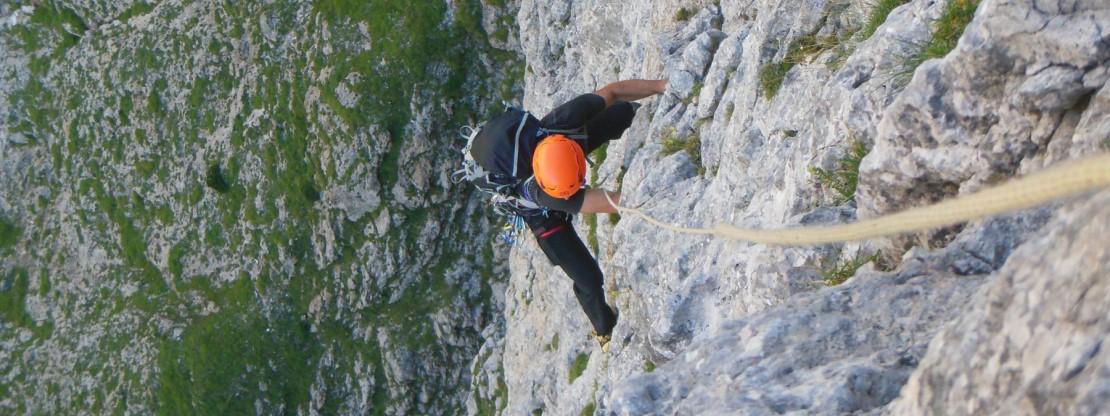 In Val Canali per l`Aggiornamento roccia 2021